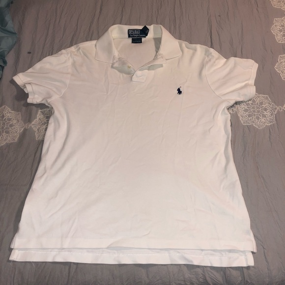 Polo shirt sleeve collard shirt